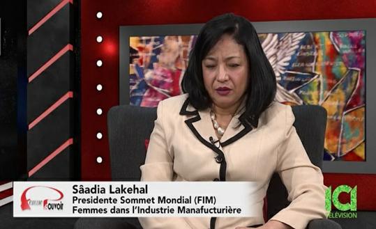 Montréal: Sâadia Lakehal invitée en entrevue | Émission Femme & Pouvoir – ICI TELEVISON